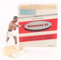 """Muhammad Ali Signed LE 1990 Salvino Sports Legends """"The Greatest"""" Figurine (JSA ALOA & Salvino COA)"""