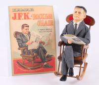Vintage John F. Kennedy LE Kamar Doll with Rocking Chair (Kamar LOA)