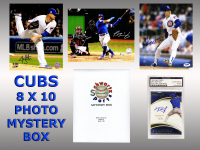 Chicago Cubs Signed Mystery Box 8x10 Photo - 2016 World Champions Edition Series 6 (Limited to 108) at PristineAuction.com