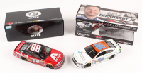 Lot of (2) Dale Earnhardt Jr. LE 1:24 Scale Die Cast Cars with (1) #88 Nationwide Children's 2017 SS & (1) Signed #88 Axalta Last Ride Race Version 2017 SS Elite (RCCA COA)
