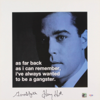 "Henry Hill Signed ""Goodfellas"" 16x16 Photo Inscribed ""Goodfella"" (PSA COA & Hill Hologram) at PristineAuction.com"