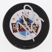 Jeremy Roenick Signed 1994 All-Star Game Logo Hockey Puck (JSA COA)