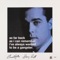 """Henry Hill Signed """"Goodfellas"""" 16x16 Photo Inscribed """"Goodfella"""" (PSA COA & Hill Hologram) at PristineAuction.com"""