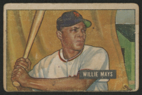 1951 Bowman #305 Willie Mays RC