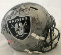 Bo Jackson Signed Oakland Raiders Full-Size Hydro Dipped Speed Helmet (Beckett COA)