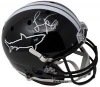 """Jamie Foxx Signed Schutt """"Any Given Sunday"""" Miami Sharks Full-Size Helmet (JSA COA)"""
