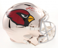 Kyler Murray Signed Arizona Cardinals Full-Size Chrome Speed Helmet (Beckett Hologram)