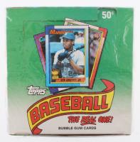 1990 Topps Baseball Retail Box of (36) Wax Packs