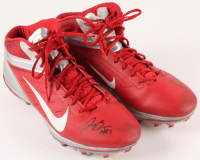 Joey Bosa Signed Ohio State Buckeyes Game-Used Pair of (2) Cleats (JSA COA)