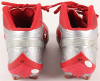 Joey Bosa Signed Ohio State Buckeyes Game-Used Pair of (2) Cleats (JSA COA) at PristineAuction.com