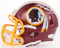 Dwayne Haskins Signed Washington Redskins Speed Mini Helmet (JSA COA) at PristineAuction.com