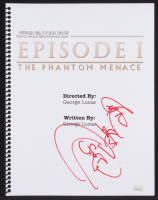 "Ray Park Signed ""Star Wars: Episode I – The Phantom Menace"" Movie Script Inscribed ""Sith Rule"" (JSA COA)"