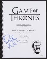 "Kristian Nairn Signed ""Game of Thrones: The Door"" Episode Script (JSA COA)"