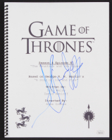 "Hafpor Julius Bjornsson Signed ""Game of Thrones: The Mountain and the Viper"" Episode Script (JSA COA)"