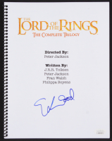 """Elijah Wood Signed """"The Lord of the Rings"""" Complete Trilogy Script (JSA COA)"""