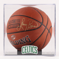 Larry Bird Signed 2017 NBA All-Star Official Game Ball Basketball with Display Case (PSA COA)