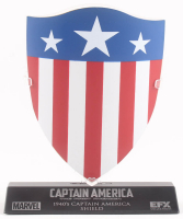 Captain America: The First Avenger High Quality Metal Movie Prop Shield at PristineAuction.com