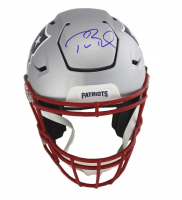 Tom Brady Signed New England Patriots Full-Size Authentic On-Field SpeedFlex Helmet (TriStar Hologram)