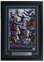 "Greg Horn Signed Marvel ""Avengers"" 17x25 Custom Framed Lithograph Display (JSA COA)"