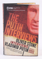 "Oliver Stone Signed ""The Putin Interviews: Oliver Stone Interviews Vladimir Putin"" Hardcover Book (PSA COA) at PristineAuction.com"