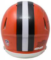 Odell Beckham Jr. & Jarvis Landry Signed Cleveland Browns Full-Size Authentic On-Field Speed Helmet (JSA COA) at PristineAuction.com