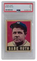 1949 Leaf #3 Babe Ruth (PSA 3)