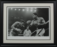 "Muhammad Ali LE ""The Thriller In Manila"" 17x22 Custom Framed Print"
