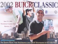 Sergio Garcia Signed 2002 Buick Classic 18x24 Poster (JSA COA)
