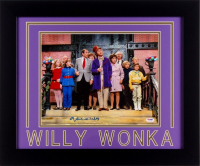 "Gene Wilder Signed ""Willy Wonka & the Chocolate Factory"" 19.5x23.5 Custom Framed Photo Display (PSA COA)"