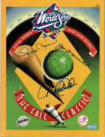 Derek Jeter, Mariano Rivera & Joe Torre Signed 1998 World Series Program (Steiner COA) at PristineAuction.com