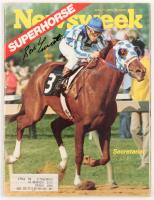 Ron Turcotte Signed 1973 Newsweek Magazine (JSA COA)