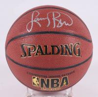 Larry Bird Signed NBA Basketball (Beckett COA & Bird Hologram)