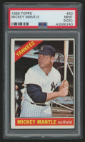 1966 Topps #50 Mickey Mantle (PSA 9) (OC)