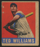1949 Leaf #76 Ted Williams