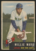 1953 Topps #244 Willie Mays at PristineAuction.com