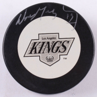 Wayne Gretzky Signed Los Angeles Kings Logo Hockey Puck (JSA COA & Gretzky Hologram)