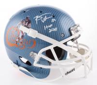 "Brian Urlacher Signed Chicago Bears Authentic On-Field Full-Size Hydro Dipped Helmet Inscribed ""HOF 2018"" (Beckett COA)"