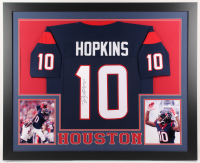 DeAndre Hopkins Signed Houston Texans 35x43 Custom Framed Jersey (JSA COA) at PristineAuction.com