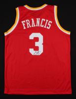 Steve Francis Signed Houston Rockets Jersey (JSA COA)