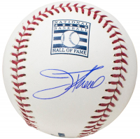 Jim Thome Signed OML Hall of Fame Logo Baseball with Display Cube (Beckett COA)