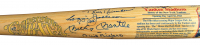 "New York Yankees HOF Baseball Bat Signed by (25) with Mickey Mantle, Yogi Berra, Whitey Ford, Jim ""Catfish"" Hunter, Reggie Jackson (PSA LOA) at PristineAuction.com"