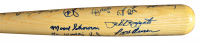 "Cooperstown Bat Co. New York Yankees Stadium Baseball Bat Signed by (25) with Mickey Mantle, Yogi Berra, Whitey Ford, Jim ""Catfish"" Hunter (PSA LOA) at PristineAuction.com"