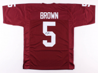Marquise Brown Signed Oklahoma Sooners Jersey (JSA COA)