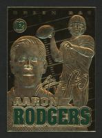 2014 Merrick Mint Aaron Rodgers 23kt Gold Card