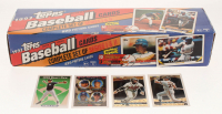 1993 Topps Complete Set of (825) Baseball Cards with #2 Will Clark,  #15 Terry Pendleton, #98 Derek Jeter RC,  #701 Mike Piazza / Brook Fordyce / Carlos Delgado / Donnie Leshnock