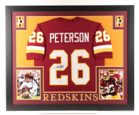 Adrian Peterson Signed 35x43 Custom Framed Jersey (Beckett Hologram) at PristineAuction.com