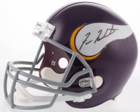 Fran Tarkenton Signed Minnesota Vikings Throwback Full-Size Helmet (Beckett COA)