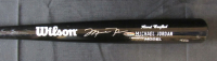 Michael Jordan Signed Wilson Hand Crafted Player Model Baseball Bat (UDA COA)