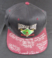 """Legendary Ladies of Baseball"" Snapback Hat Signed by (5) with Dottie Kamenshek, Pepper Davis, Marge Wenzell with (5) Career Inscriptions (JSA Hologram)"