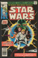 "Vintage 1977 ""Star Wars"" Issue #1 Marvel Comic Book"